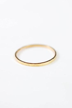 Marida - Hammered Band Ring
