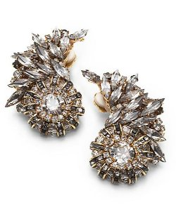 Erickson Beamon  - Swarovski Crystal Velocity Earrings