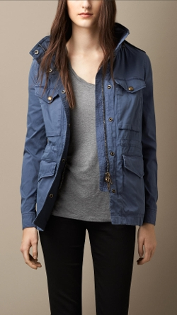 Burberry - Stretch-Cotton Field Jacket