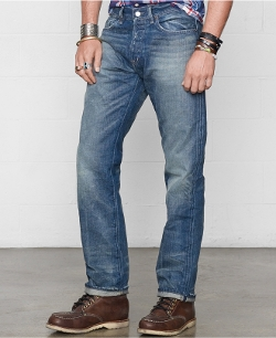 Ralph Lauren Denim & Supply - Straight-Fit Traverse-Wash Jeans