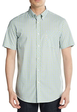 Ben Sherman  - Gingham Check Cotton Shirt