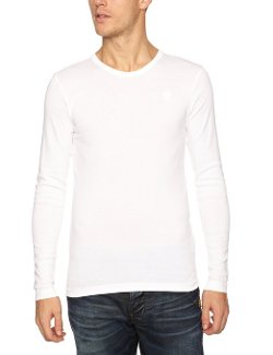 G-Star Raw - Round Neck Long Sleeve Tee