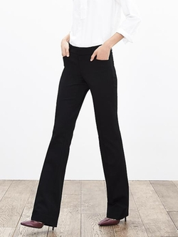 Banana Republic - Sloan-Fit Black Trousers