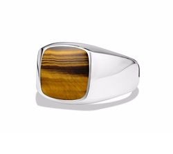 David Yurman - Exotic Stone Ring with Tiger
