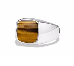 David Yurman - Exotic Stone Ring with Tiger
