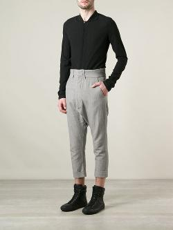 Y / Project  - Cropped Trousers