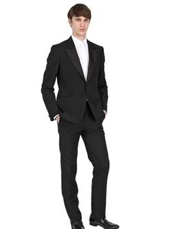 Alexander Mcqueen - Cool Wool Tuxedo Suit