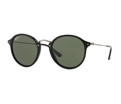 Ray-Ban - Round Plastic/Metal Sunglasses