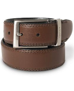Nautica  - Saddle Leather Reversible Belt