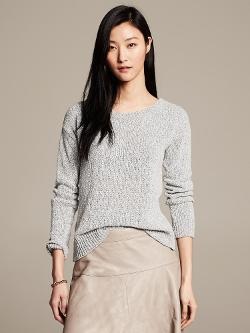 Banana Republic - Heritage Marled Pullover