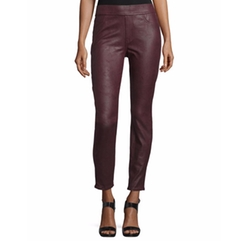 Jen7 - Nappa Leather-Like Ponte Skinny Jeans