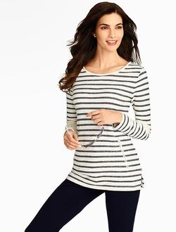 Talbots - Fresco Stripe Tunic Top