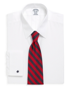 Brooks Brothers - Point Collar French Cuff Dress Shirt