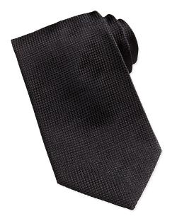 Giorgio Armani - Solid Textured Silk Tie