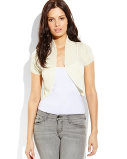 Mingle - Mingle Cropped Shrug