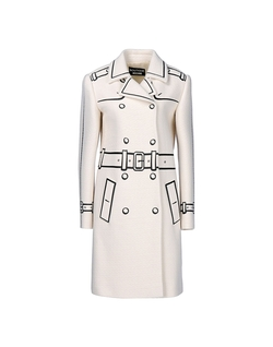 Moschino - Lapel Collar Coat