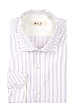 Borgo 28  - Pinstripe Modern Fit Dress Shirt