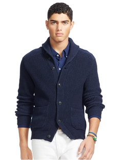 Polo Ralph Lauren - Cotton Shawl-Collar Cardigan