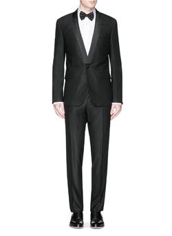 Givenchy - Satin Shawl Lapel Tuxedo Suit