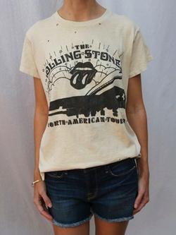 Madeworn - Rolling Stones N. America 72 T-Shirt