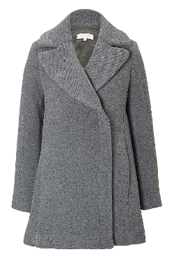 Paul & Joe - Double Face Wool A-Line Coat