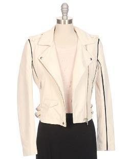 IRO - Ashville Two-Tone Leather Jacket