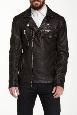 Rogue  - Asymmetrical Moto Leather Jacket