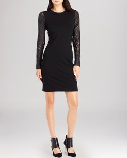 Kenneth Cole New York  - Trudy Lace Sleeve Dress