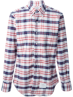 Thom Browne - Plaid Button Down Shirt