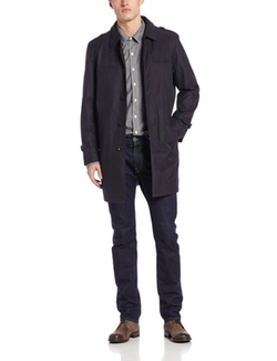 Kenneth Cole New York - Rusty Single-Breasted Belted Trench Coat