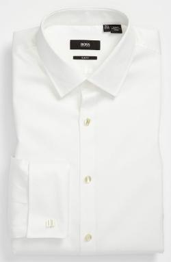Hugo Boss  - Jameson Slim Fit Tuxedo Shirt