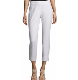 Eileen Fisher - Stretch-Crepe Ankle Pants