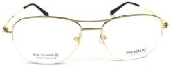 EXCELLANT -  Half Rimless Aviator RX Eyeglass
