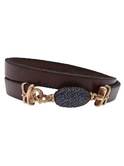 Federica Rettore - Oval Sapphire Wrap Bracelet