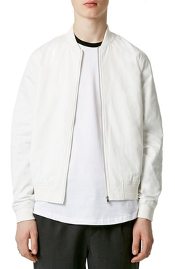 Topman  - Cotton Bomber Jacket