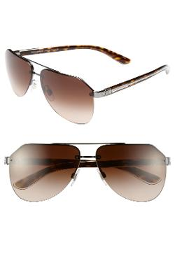 Dolce&Gabbana - Polarized Rimless Aviator Sunglasses
