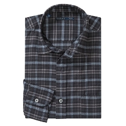 Mason's  - Brushed Cotton Multi-Plaid Shirt