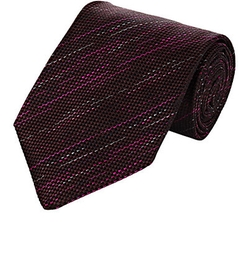Kiton  - Striped Jacquard Necktie