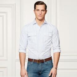 Ralph Lauren - Aston Striped Utility Shirt