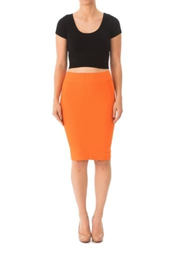 Karen Michelle - Fitted Pencil-Skirt