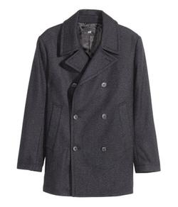 H&M - Wool-Blend Pea Coat