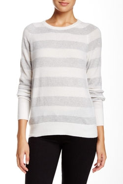 Equipment - Metallic Stripe Cashmere Sweater
