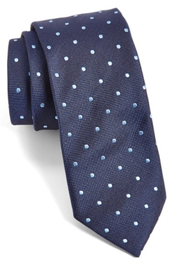 Boss Hugo Boss - Polka Dot Silk Tie