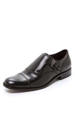 John Varvatos Star USA  - Luxe Monk Strap Oxfords