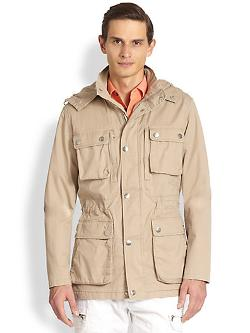 Michael Kors  - Cotton Twill Utility Jacket