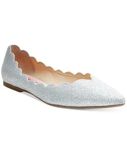 Betsey Johnson  - Crosbey Scalloped Fla Shoes