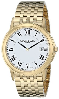 "Raymond Weil - ""Tradition"" Gold-Tone Stainless Steel Watch"