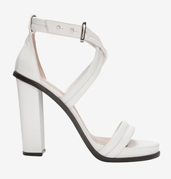 Barbara Bui  - Cross Strap Chunky Heel Sandals