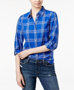 Tommy Hilfiger - Louise Plaid Shirt