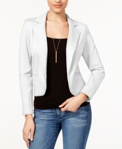 Bar Iii - Notched Open-Front Blazer